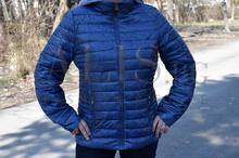 Дамско пролетно - есенно яке -ALYSSA - тъмно синьо от 46 до 54 размер