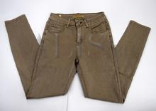Дамски панталон голям размер - DAYNA - тъмно бежов от 42 до 52 размер