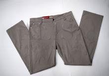Дамски панталон голям размер - EMMA - сив