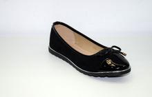 Ежедневни дамски пантофки - BALERINA - черни