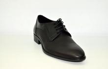 Официални мъжки обувки ЕСТЕСТВЕНА КОЖА БЪЛГАРСКИ - BG BG - черни