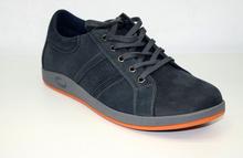 Спортно - елегантни мъжки обувки- NIK - тъмно сини