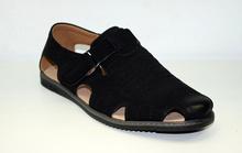 Модни мъжки сандали НОВ МОДЕЛ - TOP MEN - черни