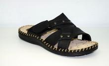 Страхотни мъжки чехли - IAN - черни