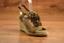 Модни сандали - NATALIE - бежови
