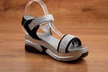Дамски сандали - SIERRA - сребристи