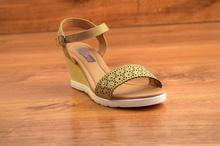 Дамски сандали - FASHION - бежови