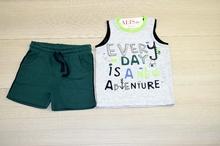 Бебешки комплект - BOY - зелен от 6 до 36 месеца