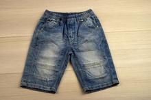 Къси дънки за момче -SG- светло сини за 6 години