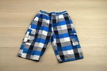 Къси детски панталони - BOY - сини за 6 и 10 години