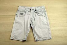 Къси панталони - BOY- светло сиви от 8 до 14 години