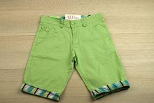 Къси панталони - BOY'S STUDIO - светло зелени за 14 и 16 години
