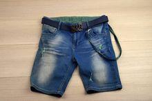 Къси дънки за юноши -SG- сини за 16 години