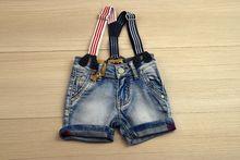 Къси дънки за момче -SМ- светло сини за  12, 18 месеца