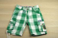 Къси панталони - BOY.S- зелени от 8 до 16 години