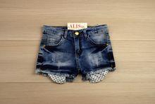 Къси панталонки - KEIRA - тъмно сини за 9 и 10 годишни