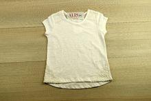 Блуза с къс ръкав - WHITE - бяла от 3 до 7 годишни