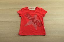 Детска блуза с къс ръкав - ART - червена за 4, 6, 8 годишни