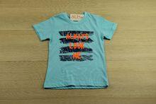 Детска тениска - LOOK ME - светло синя от 4 до 8 годишни