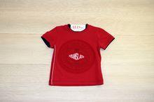Детска тениска за момчета - TRANSLATE - червена за 2 и 3 годишни