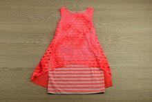 Детска рокля с колие - розова за 4, 6, 10 годишни