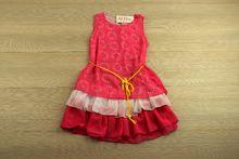 Детска рокля - SMILE YES - розова за 8, 10, 12 годишни