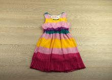 Страхотна рокля- EMMA - цветна за 2, 4, 6 годишни