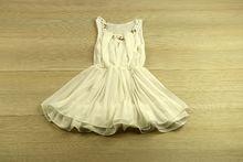 Бяла рокля - AVA -  за 2 годишни