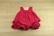 Детска рокля стил и в ежедневието - розова за 2 и 6 годишни