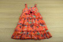 Модна детска рокля - BREEZE - корал за 8 и 10 годишни