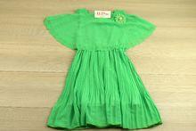 Рокля с болеро - зелена за 4,6,8,10 годишни