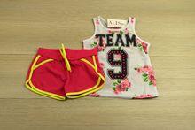 Спортен екип за момичета - розов за 4,8,10,12 годишни