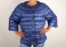 Дамско пролетно - есенно яке - 1501 - синьо големи размери
