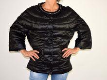 Дамско пролетно - есенно яке - 1501 - черно големи размери