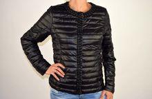 Дамско пролетно - есенно яке - 1502 - черно с перли