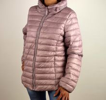 Дамско пролетно - есенно яке - 1506 - розово големи размери