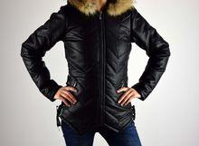 Зимно дамско яке до 4XL - 1609 - БРАТАН