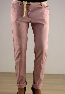 Ефирен дамски панталон - 029 - розов
