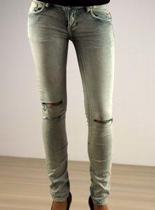 Дамски панталон - 038 - светло син