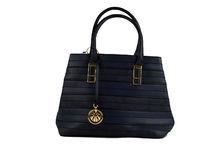 Дамска чанта - CO COO FASHION - тъмно синя