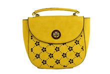 Дамска чанта - DUDLIN - жълта
