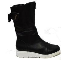Стилни дамски боти - 061 - черни