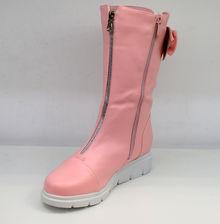 Стилни дамски боти - 061 - розови