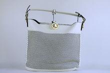 Дамска чанта с органайзер - CO FASHION - бяла
