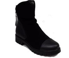 Стилни дамски боти - 069 - черни