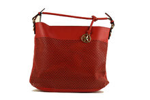 Дамска чанта с органайзер - CO FASHION - червена