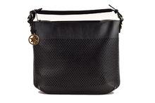 Дамска чанта с органайзер  - CO FASHION - черна