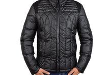 Мъжко стилно зимно яке - 1106 - черно