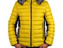 Топло мъжко зимно яке - 1109 - жълто