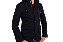 Елегантно мъжко яке тип сако - черно